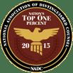 NADC Top 1% badge