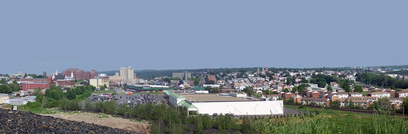 Hazelton, Pennsylvania cityscape