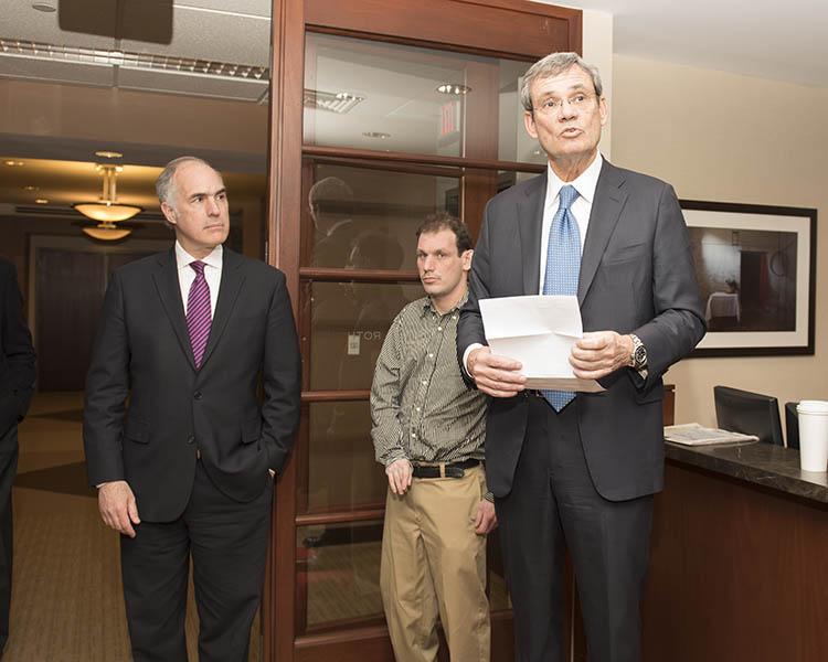 Stewart Cohen Interviews Senator Casey