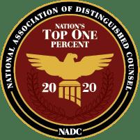 Top 1% NADC logo