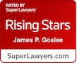 SuperLawyers Rising Stars badge