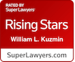 SuperLawyers Rising Star badge
